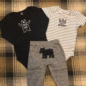 18 Month 3 Piece Onesie Set w/ Pants